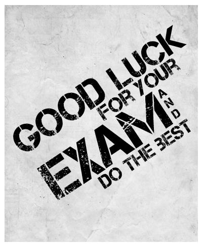 Bonne chance ! - CPGE Courbet Belfort