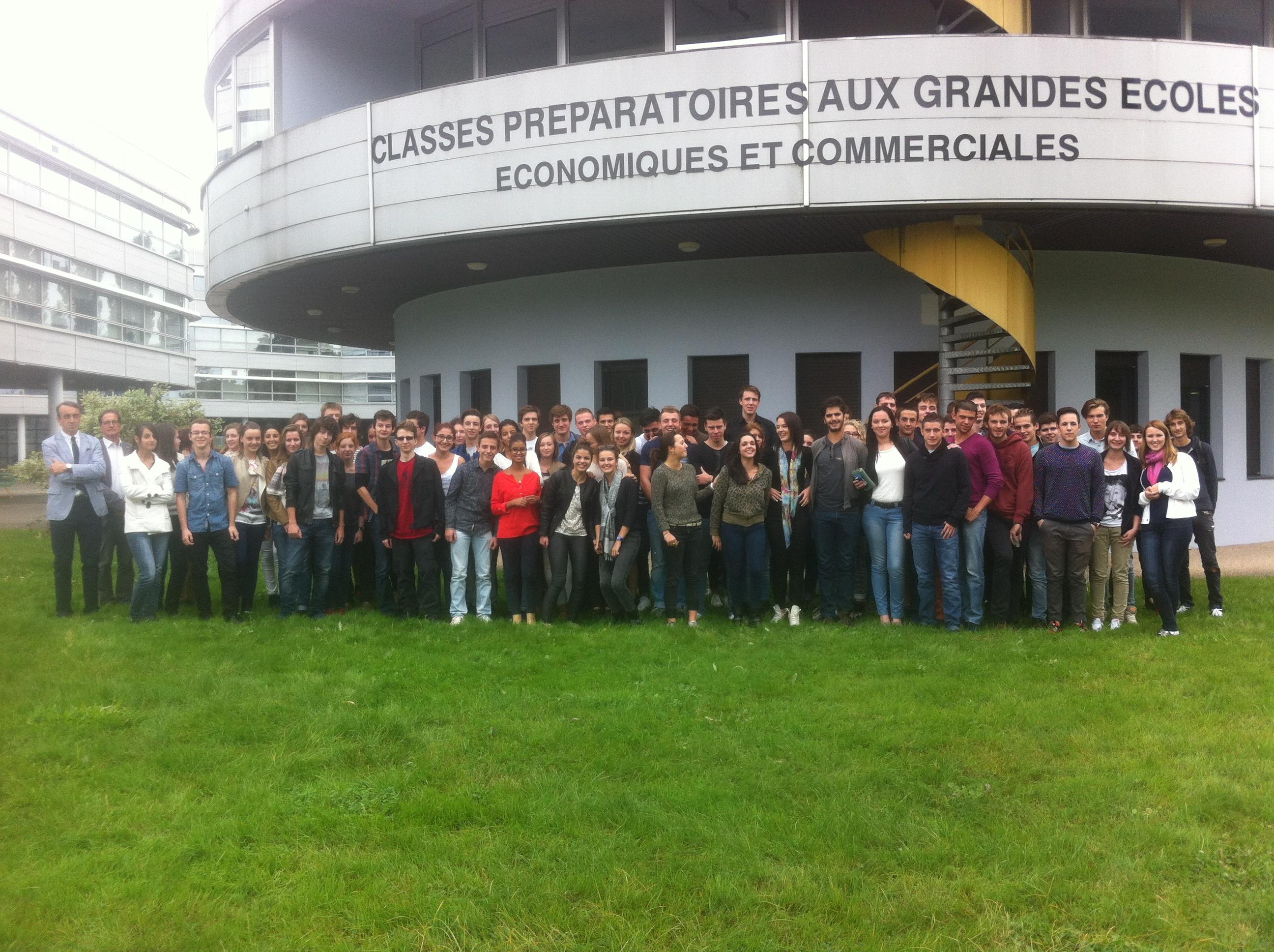 Les deux promotions réunies ! - CPGE Courbet Belfort