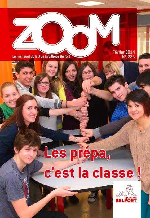 """Article dans """"Zoom"""" de février 2014 - CPGE Courbet Belfort"""