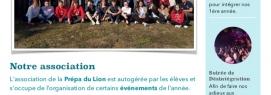 L'association de la Prépa du Lion se présente